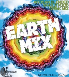 Earth Mix Plant Based Protein Nutritional Drink Mix Raw Vegan Super Food Powder