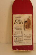 Vintage Retro Nuway Hanging Knife Holder 1939 1930s Kitchen Accessory