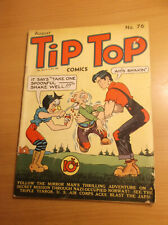UNITED FEATURE SYNDICATE INC.: TIP TOP COMICS #76, RARE GOLDEN AGE, 1942, VG-!!