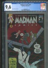 MADMAN COMICS 18 THE WORLD'S SNAPPIEST COMIC MAGAZINE! BEST & ONLY CGC NM+ 9.6