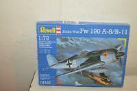 MAQUETTE REVELL AVION FOCKE WULF FW 190 A-8/R-11 PLANE 1/72 MODEL KIT NEUF