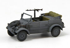 S-Model 1/72 German Kubelwagen VW82,Type 82 Jeep With Gun Finshed Product#CP0037