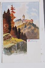 29106 Litho Künstler AK Martins Kunstverlag Die Wartburg um 1900