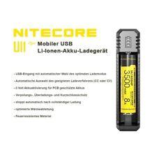 Nitecore Ui1 USB 1-Schacht Ladegerät Li-Ionen Akkus 18650 20700 21700 26650 uvm.
