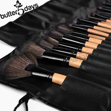 32pcs Professional Soft Cosmetic Eyebrow Shadow Natural Brushes Set Kit + Pouch