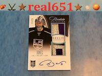 2013 Rookie Anthology Auto-Patch-Relic MARTIN JONES | TOM WILSON | TOMAS HERTL +