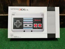 Nintendo 3DS XL Console Retro NES Edition Silver Handheld System Used Good
