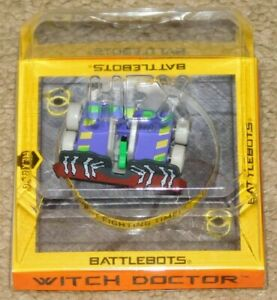 HEXBUG BATTLEBOTS PUSH STRIKE WITCH DOCTOR (New In Package)