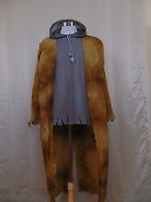 Street Zombie Child Costume Halloween Top/Attached Jacket only Large #1377