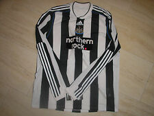 NEWCASTLE UTD FORMOTION PLAYER ISSUE HOME SHIRT SIZE XXL 2009/10 BRAND NEW/TAGS