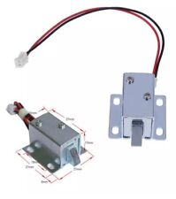 6V / 12V DC Cabinet Door Drawer Electric Lock Assembly Solenoid Lock 27x27x17mm