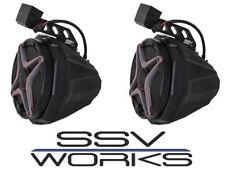 SSV Works Rear Cage Rail Speaker Pods w/ Speakers 2018 Polaris Ranger XP 1000