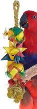 02048 Medium Comet Bonka Bird Toys Cages Toy Cage Foraging Chew Shredder Conure
