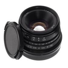 25mm F/1.8 Manual Focus Fixed Lens APS-C for Canon EFM EOS M M100 M5 M6 M50 M100