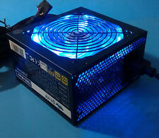 New 1000w ATX12V Quiet LED Fan Active PFC Dual PCIE Gaming 80+ PC Power Supply