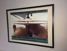 1983 Santa Barbara Jazz Music Festival Poster - 50x70cm frame, drum wall art