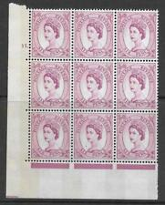 6d Wilding Violet Phosphor 9.5mm cyl 11 Dot perf type A(E/I) UNMOUNTED MINT/MNH