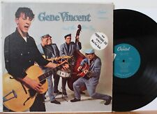 "Gene Vincent & His Blue Caps LP ""Self Titled"" ~ Capitol 811 ~ Orig MONO ~ PROMO"