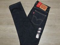 LEVIS Jeans 510 Skinny Stretch 29x30 Skinny from Hip to Ankle Dark Rinse NWT