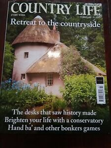 Current COUNTRY LIFE Magazine NEW