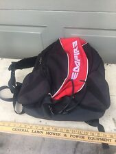 Empire Paintball  Backpack Gear Bag - Black/red -