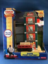 FISHER-PRICE THOMAS & FRIENDS WOODEN RAILWAY SODAR PAINT FACTORY