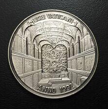 Vatican Italy Vatican Museum Michelangelo Silver Art Medal 1992 / M74