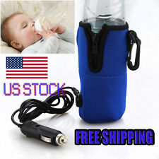 12V Food Milk Water Drink Bottle Cup Warmer Heater Car Auto Travel Baby  AP