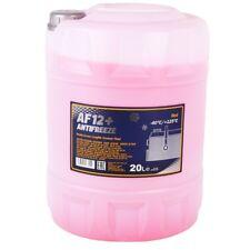 Kühlerfrostschutz Rot G12+ 20 L Mannol Antifreeze AF12+ -40°C Kühlmittel VW Audi