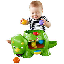 Fisher Price Baby Toys Double Poppin' Dino Kids Toddler Activity Educational