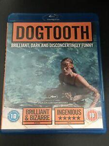 Dogtooth Blu Ray  Like New