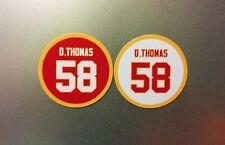 Derrick Thomas Magnets   KC Kansas City Chiefs Magnet #58 Jersey   Chiefs LB