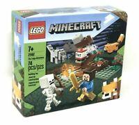 LEGO Minecraft 21162 The Taiga Adventure Set 74PC Steve Fox Wolf Skeleton NEW