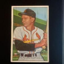 "1952 Bowman Baseball #30 Al ""Red"" Schoendienst  St. Louis Cardinals"