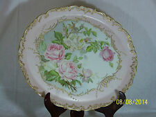 "T & V-Tresseman & Vogt Antique c1890's French Limoges ""Large"" Charger-Signed"