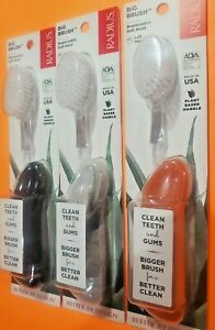 Lot of 3,  RADIUS,   LEFT Hand TOOTHBRUSH, Replaceable Head,  3 PACK