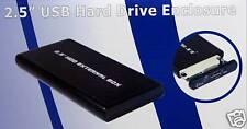 """USB 2.0 DRIVE ENCLOSURE FOR SATA 2.5"""" HARD DISK DRIVES"""