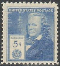 SC#892 5c American Inventors - Elias Howe Single MNH