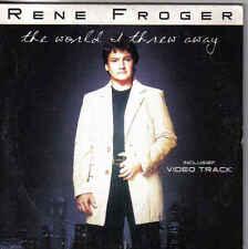 Rene Froger-The World I Threw Away cd single