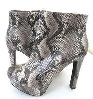 NIB Women Mossimo Supply Co. Krishae Heels Platform Ankle Boots Shoes
