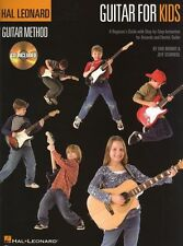 Hal Leonard Guitar Method Guitar For Kids Learn to Play Guitar Music Book & CD