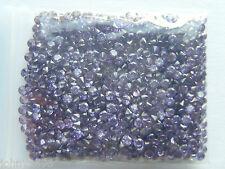 20 x2mm purple cubic zirconia round stones for 99p