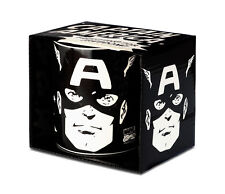 Marvel Comics Superheld Captain America Portrait Tasse - Kaffeebecher, LOGOSHIRT