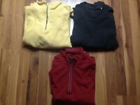 Lot Of  Three TOMMY BAHAMA Men's XL Pullover Embroidered LOGO Sweaters