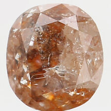 Natural Loose Diamond Cushion I3 Clarity Grey Brown Color 5.00 MM 0.66 Ct L5790