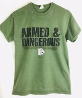 Kerusso Armed & Dangerous t-shirt Christian Men's Small