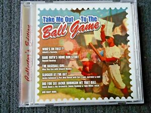 2003 Take Me Out to The Ball Game Collector's Edition CD, NICE !!!!
