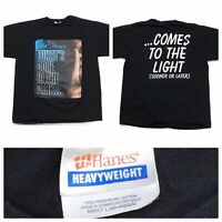 TYLER PERRY'S WHATS DONE IN THE DARK ALL OVER PRINT GRAPHIC TEE T-SHIRT SIZE L
