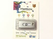 128GB Storage USB i-Flash Drive Memory Stick OTG iPhone 6 6S 7 Plus iPad Android