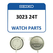 Genuine Seiko Kinetic Watch Capacitor 3023 24T Rechargeable Battery - NEW!